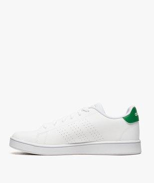 Baskets femme motifs perforés et lacets – Adidas Advantage K vue3 - ADIDAS - GEMO