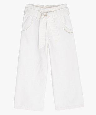 Pantalon fille coupe large avec ceinture – Lulu Castagnette vue1 - LULUCASTAGNETTE - GEMO