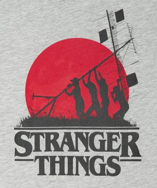 Tee-shirt garçon avec motif XXL- Stranger Things vue2 - STRANGER THINGS - GEMO