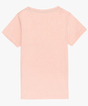 Tee-shirt fille imprimé coupe droite - Kappa vue2 - KAPPA - Nikesneakers
