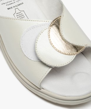 Mules femme confort à talon compensé – 5 Zones vue6 - 5 REFLEX ZONES - GEMO