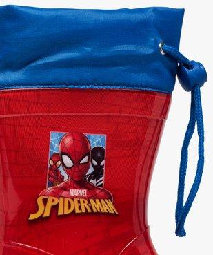 Bottes de pluie garçon à col ajustable – Spiderman vue6 - SPIDERMAN - GEMO