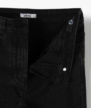Jean fille coupe ultra skinny 4 poches vue3 - GEMO (JUNIOR) - GEMO