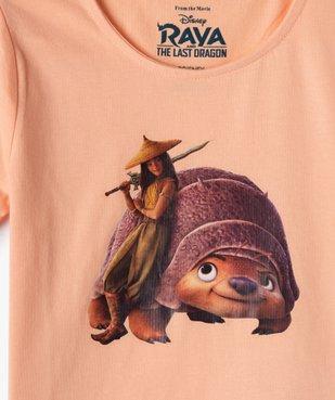 Pyjashort fille imprimé - Raya et le Dernier Dragon vue2 - DISNEY DTR - GEMO
