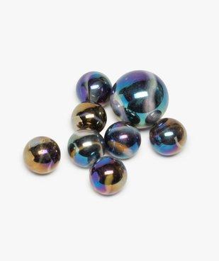Sac de billes en verre effet métal  – Scarabée Kim'Play vue2 - KIM PLAY - GEMO