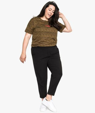 Tee-shirt femme loose à manches courtes et imprimé vue5 - Nikesneakers (G TAILLE) - Nikesneakers