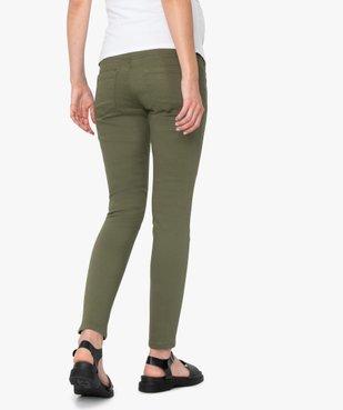 Pantalon de grossesse coupe slim avec bandeau  vue2 - GEMO (MATER) - GEMO