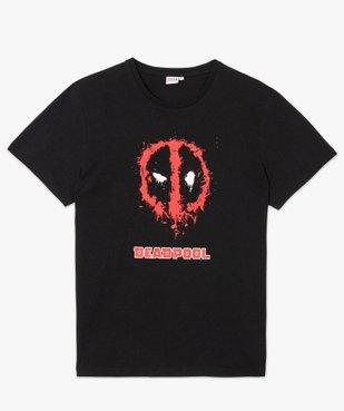 Tee-shirt homme à manches courtes imprimé Deadpool - Avengers vue4 - MARVEL DTR - GEMO
