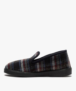 Chaussons pour homme style charentaises à carreaux vue3 - Nikesneakers C4G HOMME - Nikesneakers