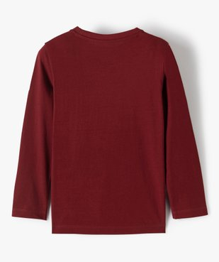 Tee-shirt garçon manches longues à poche poitrine vue4 - Nikesneakers C4G GARCON - Nikesneakers
