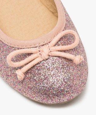 Ballerines fille pailletées avec nœud décoratif vue6 - GEMO (ENFANT) - GEMO