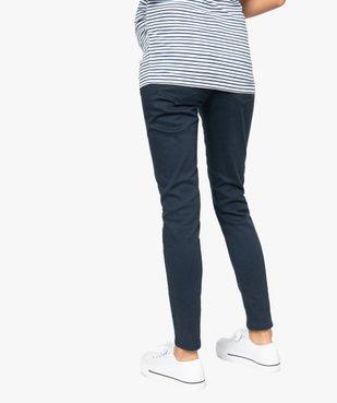 Jean de grossesse coupe slim avec large bandeau élastiqué vue3 - Nikesneakers (MATER) - Nikesneakers