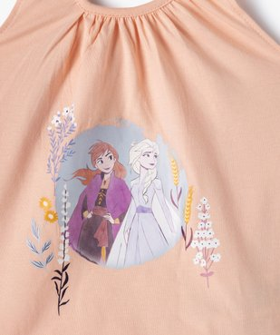 Pyjashort fille imprimé - La Reine des Neiges vue2 - DISNEY DTR - GEMO