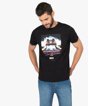 Tee-shirt homme à manches courtes imprimé - Retour vers le futur vue1 - NBCUNIVERSAL DT - GEMO