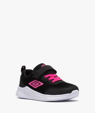 Chaussures de running fille bicolores à scratch - Umbro vue2 - UMBRO - GEMO
