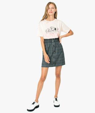 Tee-shirt femme large - Disney Animals Les 101 dalmatiens vue5 - DISNEY DTR - GEMO