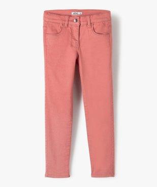 Pantalon fille coupe slim - Ultra résistant vue1 - GEMO C4G FILLE - GEMO