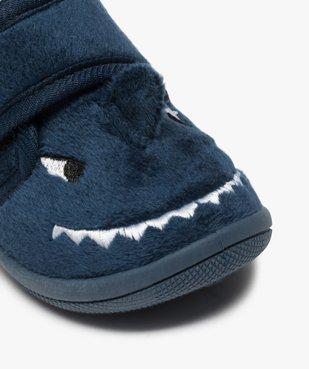 Chaussons bébé garçon montants dinosaure vue6 - GEMO C4G BEBE - GEMO