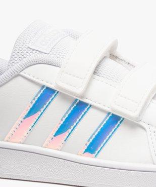 Tennis fille à scratch détails irisés – Adidas Grand Court vue6 - ADIDAS - Nikesneakers
