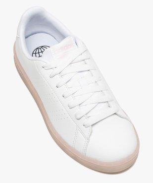 Baskets femme unies – Adidas Advantage Primegreen vue5 - ADIDAS - GEMO