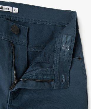 Pantalon garçon coupe skinny en toile extensible vue2 - Nikesneakers (JUNIOR) - Nikesneakers