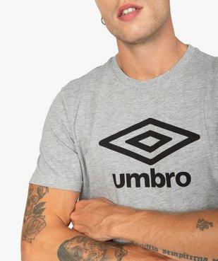 Tee-shirt homme à manches courtes avec inscription - Umbro vue3 - UMBRO - GEMO
