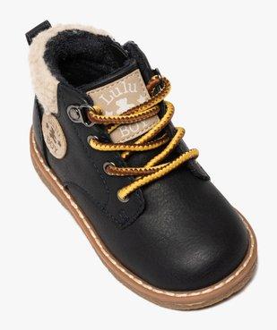 Boots bébé garçon zippés à col rembourré – Lulu Castagnette vue5 - LULU CASTAGNETT - GEMO