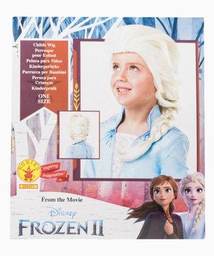 Perruque enfant Elsa La Reine des Neiges - Disney vue2 - DISNEY - GEMO
