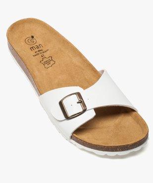 Sandales homme avec large bride à boucle vue5 - GEMO (CASUAL) - GEMO