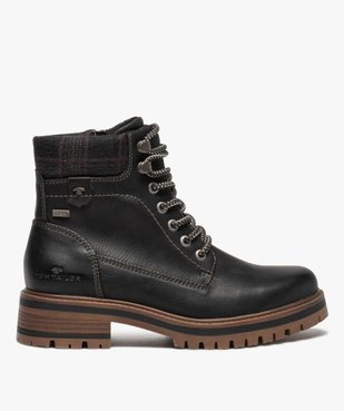 Boots femme à semelle crantée – Tom Tailor vue1 - TOM TAILOR - GEMO