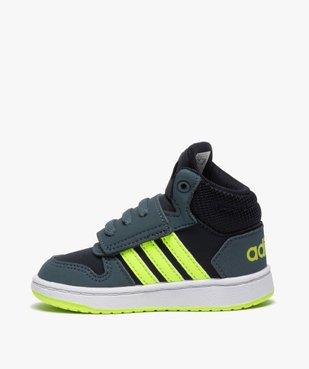 Baskets bébé garçon semi-montantes – Adidas Hoops Mid vue3 - ADIDAS - GEMO
