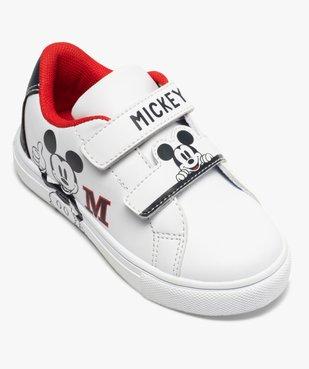 Tennis enfant à scratch imprimées Mickey vue5 - MICKEY - GEMO