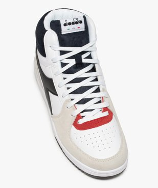 Baskets homme semi-montantes à lacets – Diadora vue5 - DIADORA - GEMO