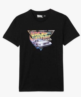 Tee-shirt homme avec motif Retour vers le futur vue4 - NBCUNIVERSAL - GEMO