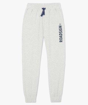 Pantalon de jogging homme en maille imprimée - Roadsign vue4 - ROADSIGN - Nikesneakers