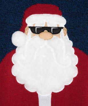 Pull de Noël garçon avec motif en maille peluche vue2 - GEMO (ENFANT) - GEMO