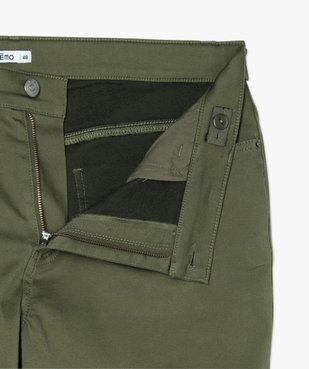 Pantalon femme coupe slim en maille extensible vue5 - GEMO (G TAILLE) - GEMO