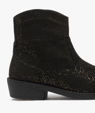 Boots fille pailletés façon camarguaise  vue6 - Nikesneakers (ENFANT) - Nikesneakers