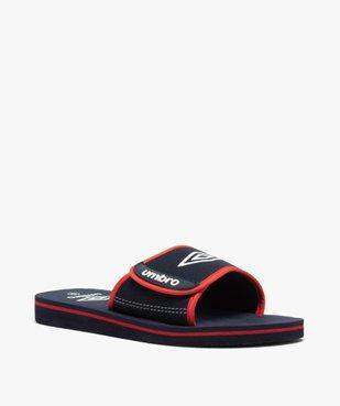 Mules de piscine garçon bicolores à scratch - Umbro vue2 - UMBRO - Nikesneakers