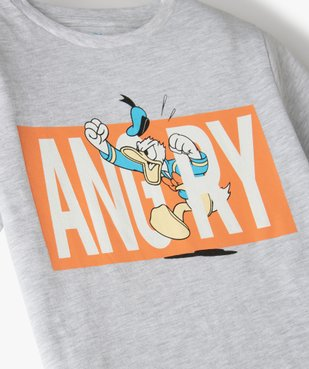 Tee-shirt garçon à manches courtes avec motif Donald - Disney vue2 - DISNEY DTR - Nikesneakers