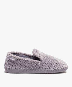Chaussons femme forme charentaise - Isotoner vue1 - ISOTONER - GEMO