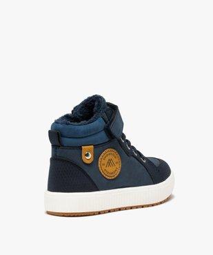 Boots garçon unies à col rembourré et doublure douce vue4 - Nikesneakers (ENFANT) - Nikesneakers