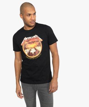 Tee-shirt homme imprimé Metallica vue1 - METALLICA - GEMO