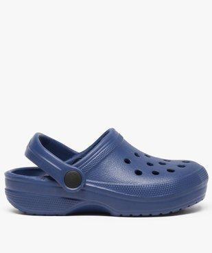 Sabots garçon unis avec perforations vue1 - Nikesneakers (ENFANT) - Nikesneakers