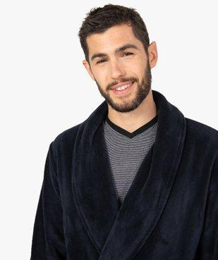 Robe de chambre peignoir pour homme vue2 - GEMO(HOMWR HOM) - GEMO