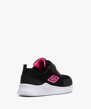 Chaussures de running fille bicolores à scratch - Umbro vue4 - UMBRO - GEMO