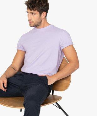 Tee-shirt homme à manches courtes et col rond vue1 - GEMO (HOMME) - GEMO