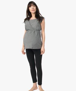 Pyjama de grossesse (2 pièces) : pantalon + top vue1 - GEMO (MATER) - GEMO