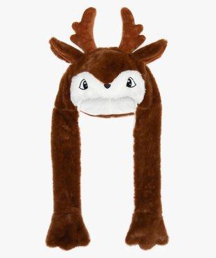 Bonnet garçon à motif renne avec longues pattes vue1 - GEMO (ENFANT) - GEMO
