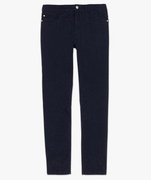Pantalon homme straight uni en coton stretch vue4 - Nikesneakers (HOMME) - Nikesneakers